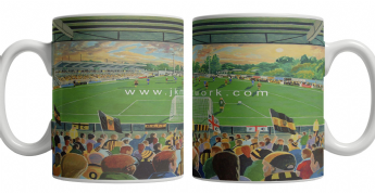 gallagher stadium mug